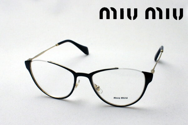3月25日(月)今夜23時59分終了 ほぼ全品ポイント16倍+5倍 【ミュウミュウ メガネ 正規販売店】 miumiu MU51OV QE31O1 伊達メガネ 度付き ブルーライト カット 眼鏡 miumiu フォックス