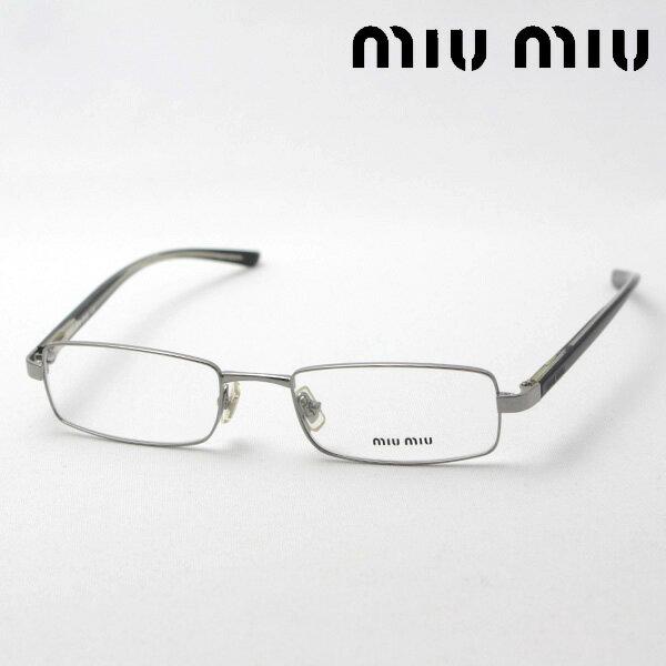 SALE特価 今夜23時59分終了 ほぼ全品がポイント15〜20倍+3倍 【ミュウミュウ メガネ 正規販売店】 miumiu MU59CV 5AV1O1 伊達メガネ 度付き ブルーライト ブルーライトカット 眼鏡 miumiu ケースなし スクエア