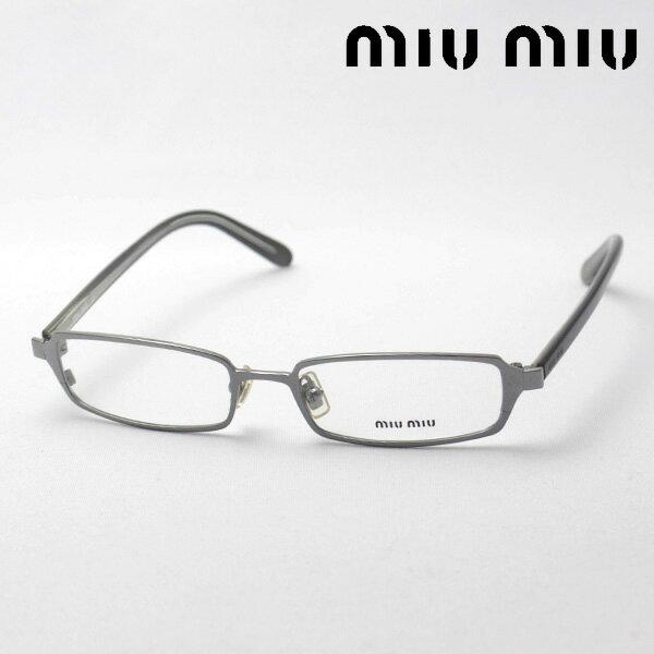 SALE特価 1月20日(日)午前9時59分終了 ほぼ全品ポイント15倍 【ミュウミュウ メガネ 正規販売店】 miumiu MU62CV 5AV1O1 伊達メガネ 度付き ブルーライト カット 眼鏡 miumiu ケースなし スクエア