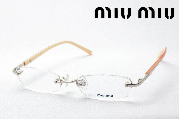 SALE特価 今夜23時59分終了 ほぼ全品がポイント15〜20倍+3倍 【ミュウミュウ メガネ 正規販売店】 miumiu MU73DV 1BE1O1 伊達メガネ 度付き ブルーライト ブルーライトカット 眼鏡 ケースなし スクエア