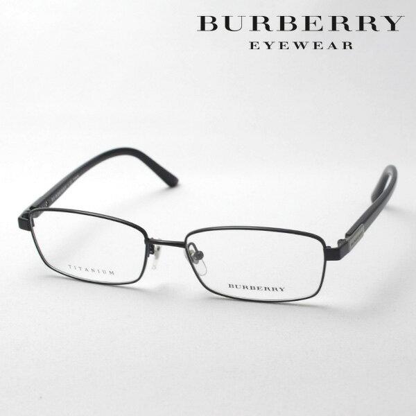 大ヒットモデル 4月22日(月)23時59分終了 ほぼ全品ポイント20倍+3倍のWチャンス 【バーバリー メガネ 正規販売店】 BURBERRY BE1287TD 1001 伊達メガネ 度付き ブルーライト カット 眼鏡 スクエア