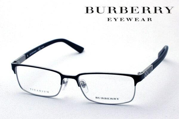 本日の朝9時59分終了 ほぼ全品15〜20%ポイントバック 【BURBERRY】 バーバリー メガネ BE1296TD 1037 伊達メガネ 度付き ブルーライト ブルーライトカット 眼鏡 スクエア