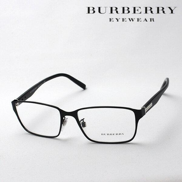 土曜23時59分終了 ほぼ全品15〜20%+5倍 【バーバリー メガネ 正規販売店】 BURBERRY BE1304D 1001 伊達メガネ 度付き ブルーライト ブルーライトカット 眼鏡 スクエア