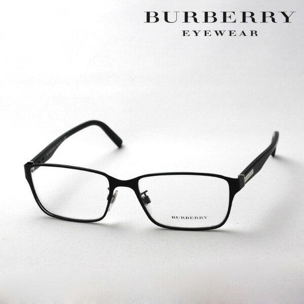 土曜23時59分終了 ほぼ全品15〜20%+5倍 【バーバリー メガネ 正規販売店】 BURBERRY BE1304D 1007 伊達メガネ 度付き ブルーライト ブルーライトカット 眼鏡 スクエア