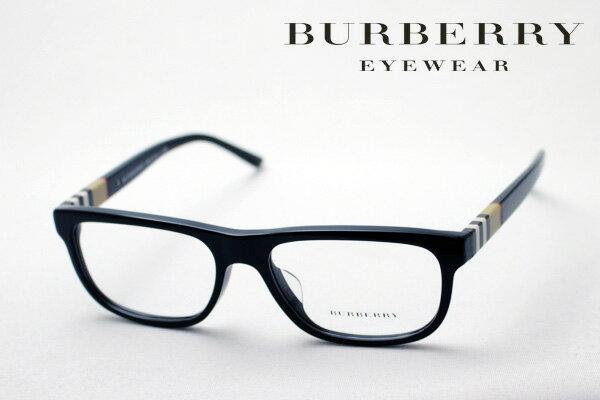 SALE特価 2月22日(金)23時59分終了 ほぼ全品ポイント15倍+2倍 【バーバリー メガネ 正規販売店】 BURBERRY BE2197F 3001 伊達メガネ 度付き ブルーライト カット 眼鏡 黒縁 スクエア