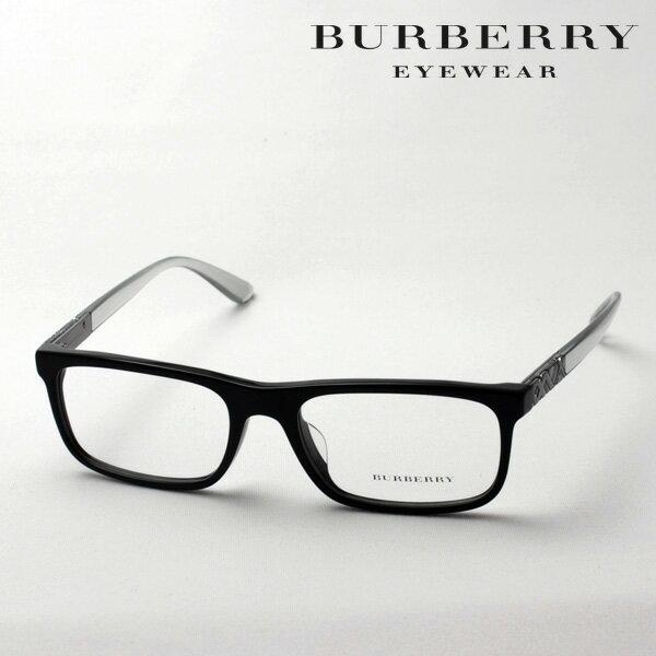 2月22日(金)23時59分終了 ほぼ全品ポイント15倍+2倍 【バーバリー メガネ 正規販売店】 BURBERRY BE2240F 3001 伊達メガネ 度付き ブルーライト カット 眼鏡 黒縁 スクエア