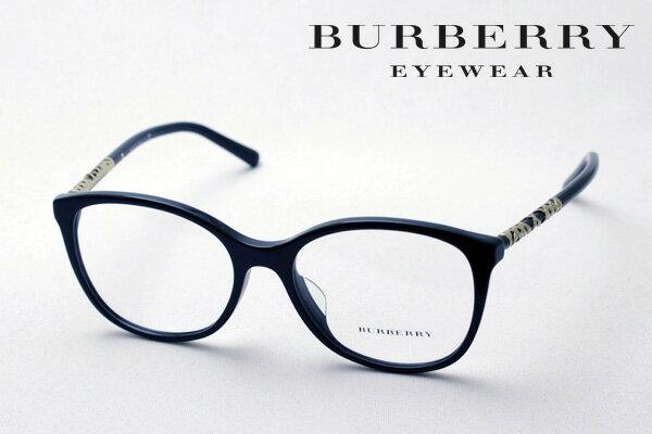 2月22日(金)23時59分終了 ほぼ全品ポイント15倍+2倍 【バーバリー メガネ 正規販売店】 BURBERRY BE2245F 3001 伊達メガネ 度付き ブルーライト カット 眼鏡 黒縁 ウェリントン