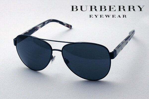 【BURBERRY】 バーバリー サングラス BE3084 122887 シェイプ