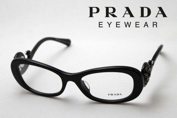 【PRADA】 プラダ メガネ PR10QVA 1AB1O1 伊達メガネ 度付き ブルーライト ブルーライトカット 眼鏡 DEAL フォックス