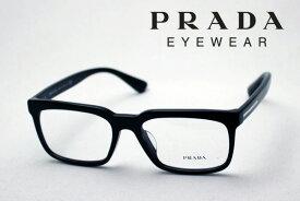 【プラダ メガネ正規販売店】 Made In Italy PRADA PR28RVF 1AB1O1 伊達メガネ 度付き ブルーライト カット 眼鏡 スクエア