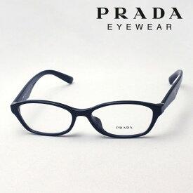 大ヒットモデル 今夜終了 ほぼ全商品ポイント20倍 7月17日(水)23時59分まで 【プラダ メガネ正規販売店】 Made In Italy PRADA PR02SV 1AB1O1 伊達メガネ 度付き ブルーライト カット 眼鏡 フォックス