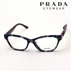 NewModel 【プラダ メガネ正規販売店】 Made In Italy PRADA PR03WVF 5101O1 伊達メガネ 度付き ブルーライト カット 眼鏡 HERITAGE Made In Italy スクエア グレー系