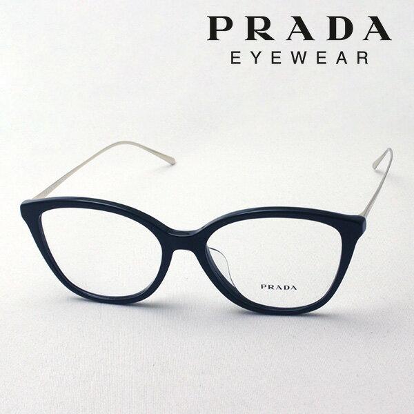 NewModel 1月23日(水)23時59分終了 ほぼ全品ポイント15倍 【プラダ メガネ正規販売店】 PRADA NewModel PR11VVF 1AB1O1 伊達メガネ 度付き ブルーライト カット 眼鏡 CONCEPTUAL Made In Italy フォックス