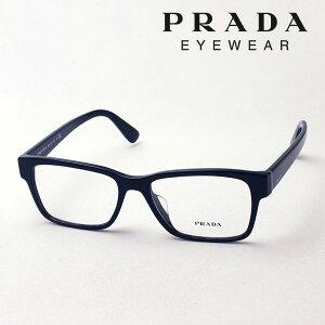 【プラダ メガネ正規販売店】 Made In Italy PRADA PR15VVF 1AB1O1 伊達メガネ 度付き ブルーライト カット 眼鏡 HERITAGE スクエア