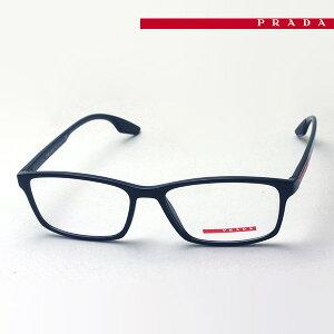 NewModel 【プラダリネアロッサ メガネ 正規販売店】 LINEA ROSSA 伊達メガネ 度付き ブルーライト カット 眼鏡 PS04MV 1AB1O1 54 プラダ メガネ フレーム Made In Italy スクエア ブラック系