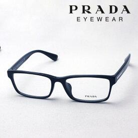 大ヒットモデル 本日の朝に終了 ほぼ全商品ポイント20倍 7月19日(金)午前9時59分まで 【プラダ メガネ正規販売店】 Made In Italy PRADA PR01SV 1AB1O1 伊達メガネ 度付き ブルーライト カット 眼鏡 スクエア