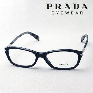 大ヒットモデル 【プラダ メガネ正規販売店】 Made In Italy PRADA PR04PVA 1AB1O1 伊達メガネ 度付き ブルーライト カット 眼鏡 シェイプ