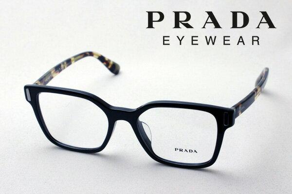 【PRADA】 プラダ メガネ フレーム PR05TVF 1AB1O1 伊達メガネ 度付き ブルーライト ブルーライトカット 眼鏡 CATWALK スクエア