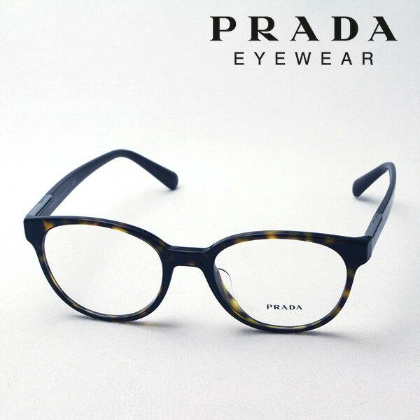 今夜23時59分終了 ほぼ全品がポイント15〜20倍+3倍 【プラダ メガネ正規販売店】 PRADA NewModel PR10UVF 2AU1O1 伊達メガネ 度付き ブルーライト ブルーライトカット 眼鏡 CONCEPTUAL Made In Italy ボストン