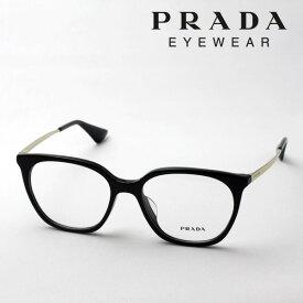 大ヒットモデル 【プラダ メガネ正規販売店】 Made In Italy PRADA PR11TVF 1AB1O1 伊達メガネ 度付き ブルーライト カット 眼鏡 フォックス