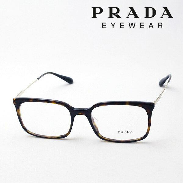 今夜23時59分終了 ほぼ全品がポイント15〜20倍+3倍 【プラダ メガネ正規販売店】 PRADA NewModel PR16UVF 2AU1O1 伊達メガネ 度付き ブルーライト ブルーライトカット 眼鏡 CONCEPTUAL Made In Italy スクエア