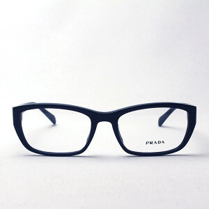 【プラダメガネ正規販売店】PRADAPR18OVA1AB1O1伊達メガネ度付きブルーライトブルーライトカット眼鏡スクエア
