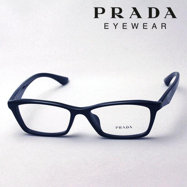 大ヒットモデル 3月22日(金)23時59分終了 ほぼ全品ポイント15倍 【プラダ メガネ正規販売店】 Made In Italy PRADA PR20RV 1AB1O1 伊達メガネ 度付き ブルーライト カット 眼鏡 スクエア