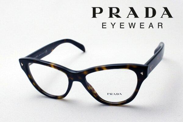 【PRADA】 プラダ メガネ PR23SV 2AU1O1 伊達メガネ 度付き ブルーライト ブルーライトカット 眼鏡 DEAL フォックス