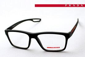 プラダリネアロッサ(旧プラダスポーツ) メガネ フレーム PRADA LINEA ROSSA(旧PRADA SPORT) PS07FV UAP1O1伊達メガネ 度付き ブルーライト カット 眼鏡 Made In Italy ウェリントン
