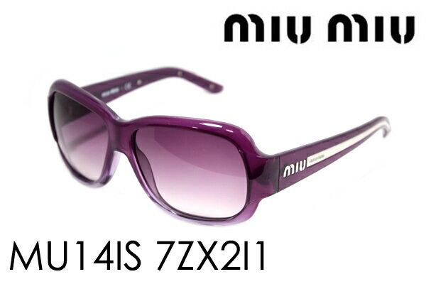 SALE特価 【miumiu】 ミュウミュウ サングラス MU14IS 7ZX2I1 レディース ケースなし