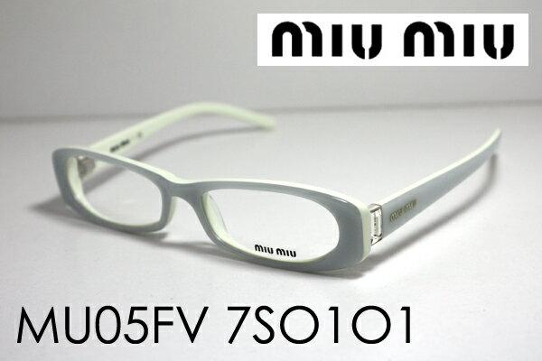 SALE特価 1月20日(日)午前9時59分終了 ほぼ全品ポイント15倍 【ミュウミュウ メガネ 正規販売店】 miumiu MU05FV 7SO1O1 伊達メガネ 度付き ブルーライト カット 眼鏡 ケースなし シェイプ