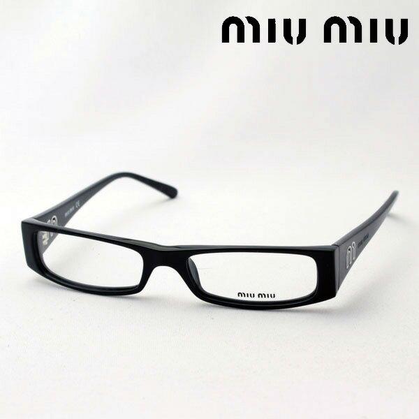 SALE特価 4月21日(日)23時59分終了 ほぼ全品ポイント20倍+2倍+3倍 【ミュウミュウ メガネ 正規販売店】 miumiu MU01FV 1AB1O1 伊達メガネ 度付き ブルーライト カット 眼鏡 miumiu ケースなし スクエア