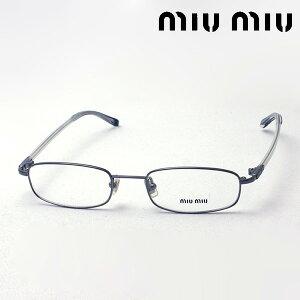おすすめ価格 【ミュウミュウ メガネ 正規販売店】 miumiu MU57CV 5AV1O1 伊達メガネ 度付き ブルーライト カット 眼鏡 ケースなし スクエア
