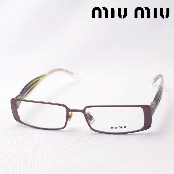 SALE特価 4月20日(土)23時59分終了 ほぼ全品ポイント20倍 【ミュウミュウ メガネ 正規販売店】 miumiu MU60CV 1BI1O1 伊達メガネ 度付き ブルーライト カット 眼鏡 ケースなし スクエア
