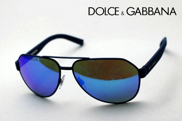 【 DOLCE&GABBANA】 ドルチェ&ガッバーナ サングラス DG2149 127325 ドルガバ ミラー ブルーレンズ サングラス ティアドロップ
