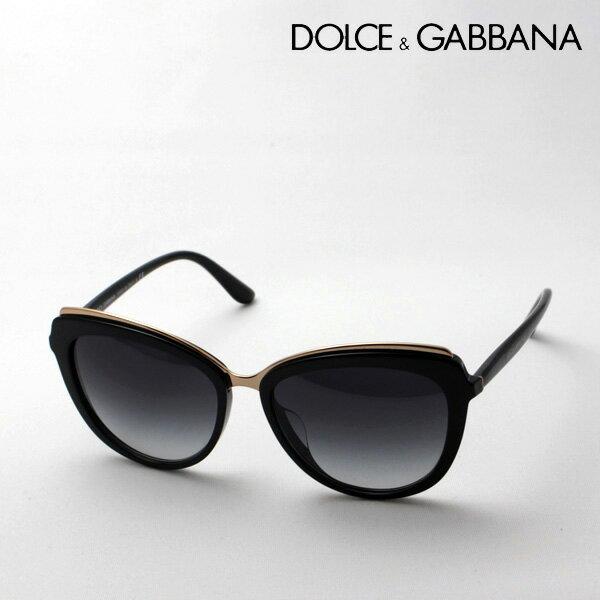 【 DOLCE&GABBANA】 ドルチェ&ガッバーナ サングラス DG4304F 5018G ドルガバ フォックス