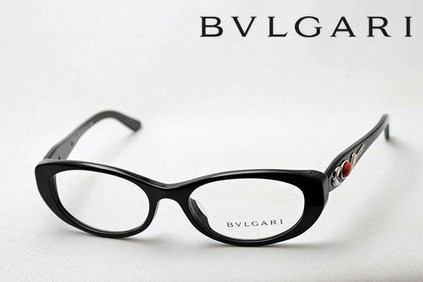 【BVLGARI】 ブルガリ メガネ BV4057BA 501 伊達メガネ 度付き ブルーライト ブルーライトカット 眼鏡 フォックス