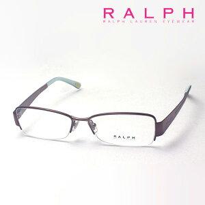 おすすめ価格 【ラルフ メガネ 正規販売店】RALPH RA6018 119 52 伊達メガネ 度付き ブルーライト カット 眼鏡 ケースなし ハーフリム ブラウン系