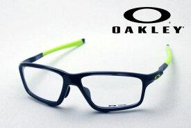 【オークリー公認店】 オークリー メガネ OX8080 0258 伊達メガネ 度付き ブルーライト カット 眼鏡 クロスリンクゼロ アジアフィット OAKLEY CROSSLINK ZERO ASIA FIT スクエア