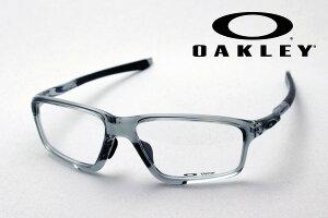 【オークリー公認店】 オークリー メガネ OX8080 0458 伊達メガネ 度付き ブルーライト カット 眼鏡 クロスリンクゼロ アジアンフィット OAKLEY CROSSLINK ZERO ASIA FIT スクエア