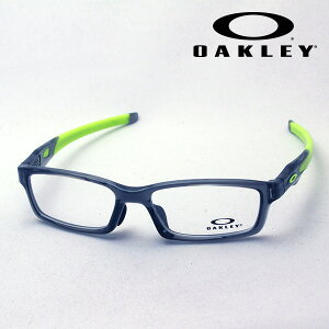 【オークリー公認店】 オークリー メガネ OX8118 02 伊達メガネ 度付き ブルーライト カット 眼鏡 クロスリンク アジアンフィット OAKLEY CROSSLINK ASIA FIT スクエア