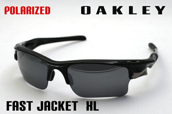 【OAKLEY】 オークリー 偏光サングラス oo9156-05 ファストジャケット XL FAST JACKET XL シェイプ