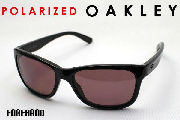 【OAKLEY】 オークリー 偏光サングラス oo9179-09 フォアハンド FOREHAND シェイプ