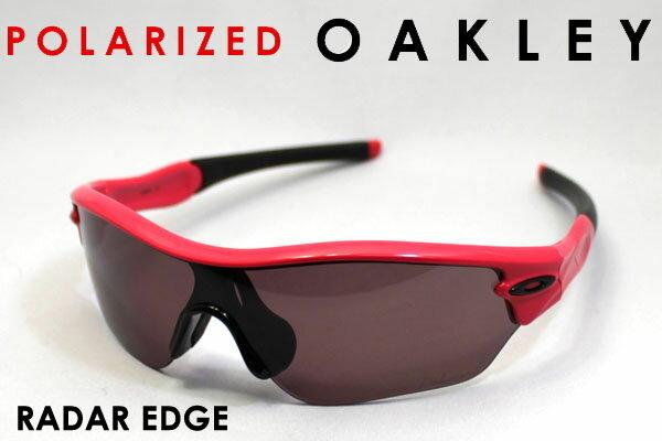 【OAKLEY】 オークリー 偏光サングラス oo9184-01 レーダーエッジ RADAR EDGE レディース シェイプ