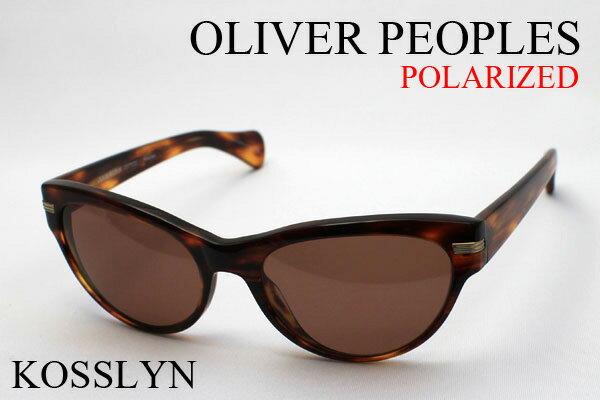 【OLIVER PEOPLES】 オリバーピープルズ 偏光サングラス DEAL OV5199-S 109583 KOSSLYN シェイプ