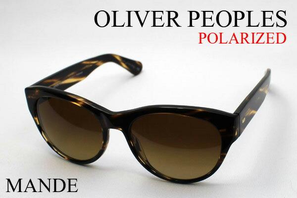 【OLIVER PEOPLES】 オリバーピープルズ 偏光サングラス DEAL OV5208-S 10039P MANDE フォックス