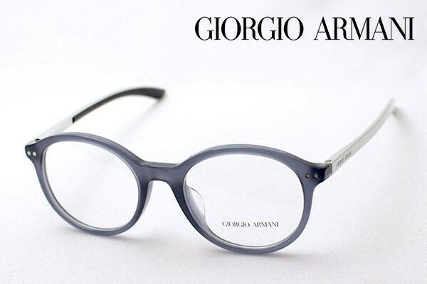 【GIORGIO ARMANI】 ジョルジオアルマーニ メガネ AR7065QF 5360 伊達メガネ 度付き ブルーライト ブルーライトカット 眼鏡 DEAL 丸メガネ ジョルジオ アルマーニ ボストン