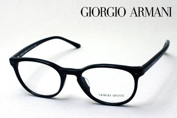 【GIORGIO ARMANI】 ジョルジオアルマーニ メガネ AR7096F 5017 伊達メガネ 度付き ブルーライト ブルーライトカット 眼鏡 DEAL 丸メガネ ジョルジオ アルマーニ ボストン