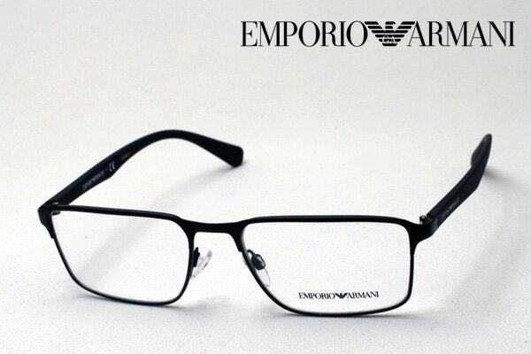 本日の朝9時59分終了 ほぼ全品ポイント15〜20倍+5倍 【EMPORIO ARMANI】 エンポリオアルマーニ メガネ EA1046 3001 メガネ 伊達メガネ 度付き ブルーライト ブルーライトカット 眼鏡 DEAL エンポリオ アルマーニ スクエア