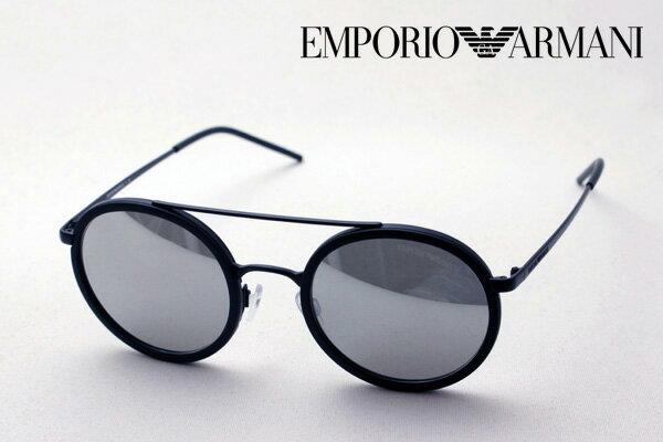 【EMPORIO ARMANI】 エンポリオアルマーニ サングラス EA2041 30016G サングラス 丸 ミラー エンポリオ アルマーニ